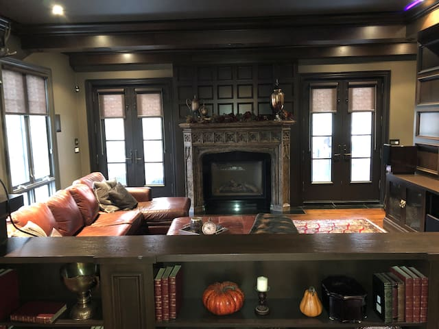 Executive Home with Theatre Room & Private Deck!