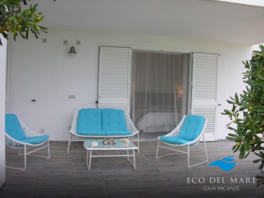 """""""SALTO NEL BLU"""" apartament with private garden"""
