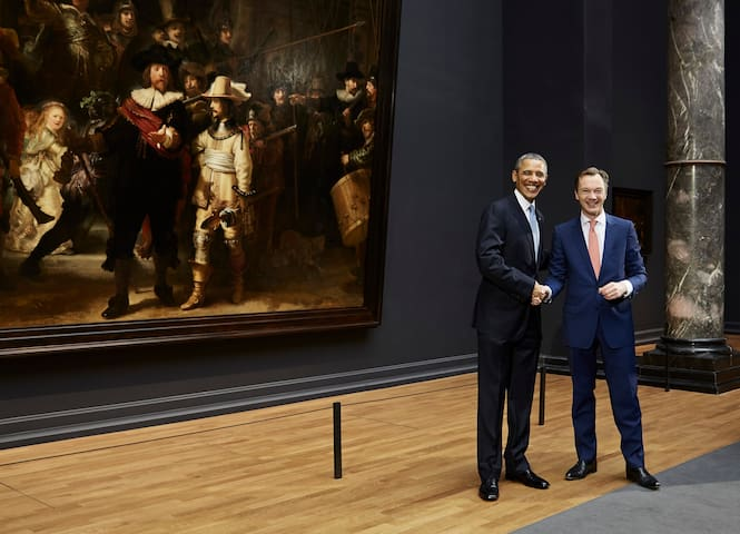 Must See:  Rijksmuseum Featuring Rembrandt van Rijn's Night Watch. Barack Obama Was Impressed!