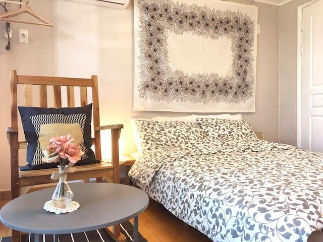 Romantic Blue 두번째!영일대해수욕장 앞- 바다조망의 아늑한 아파트
