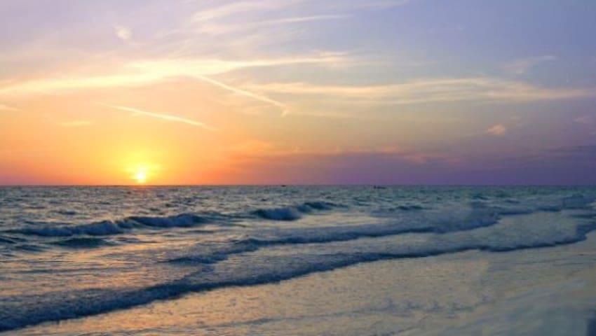 Siesta Key, #318 Only Steps to Private Beach