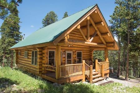 Forested Log Cabin Getaway Close to Breckenridge - Fairplay - Casa