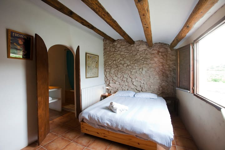 Cal Pau Cruset - Double Room - Torrelles de Foix - House