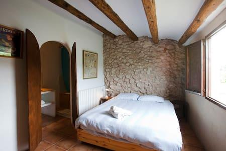 Cal Pau Cruset - Double Room - Torrelles de Foix - Casa