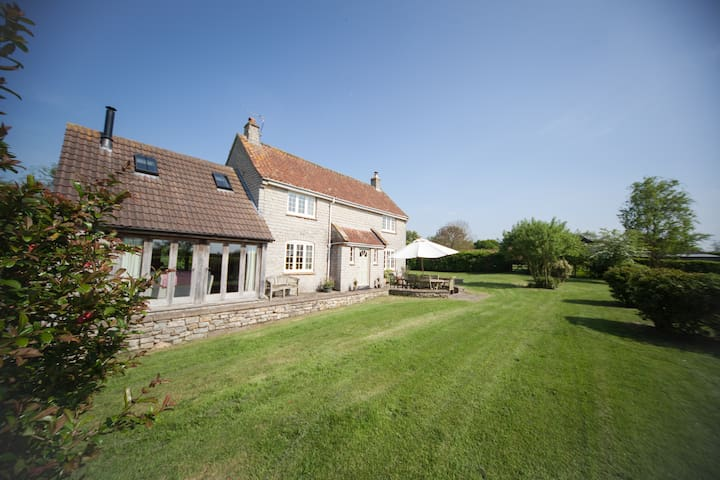 Country Cottage - Perfect for Glastonbury Festival - Somerset - Huis
