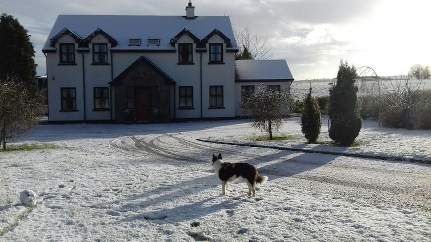 Modern room available in country house - Tullamore - Bed & Breakfast