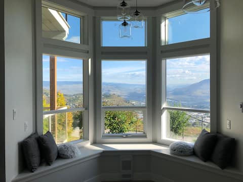 Bright spacious view suite in Aberdeen Kamloops.