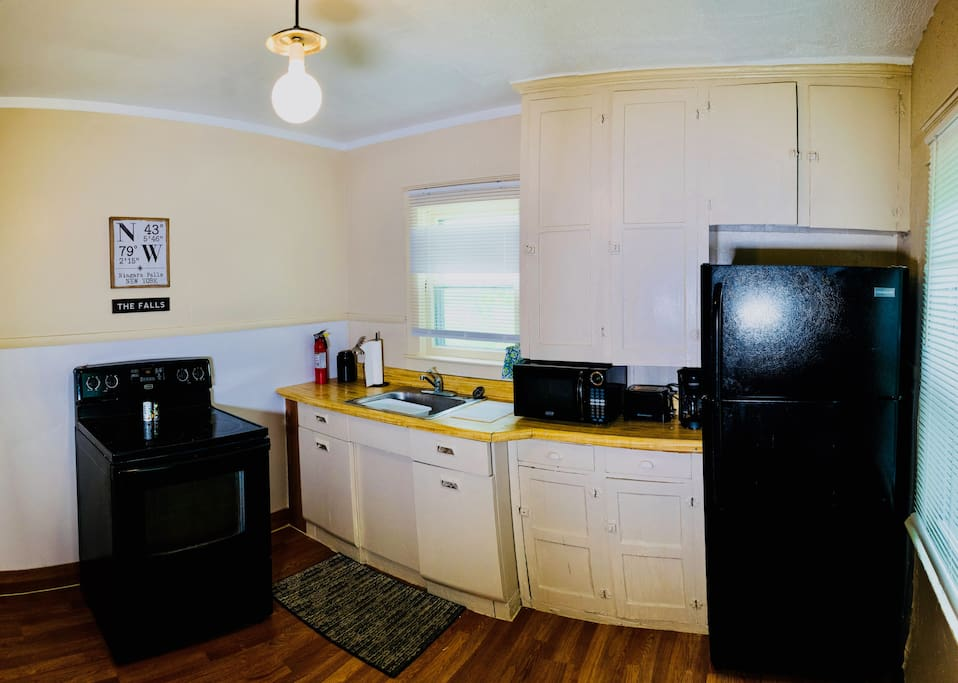 Guests are welcome to use our fully-equipped kitchen!