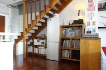 scala per accedere al piano superiore