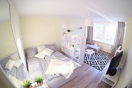 Sunny studio besides city centre! - Tallinn