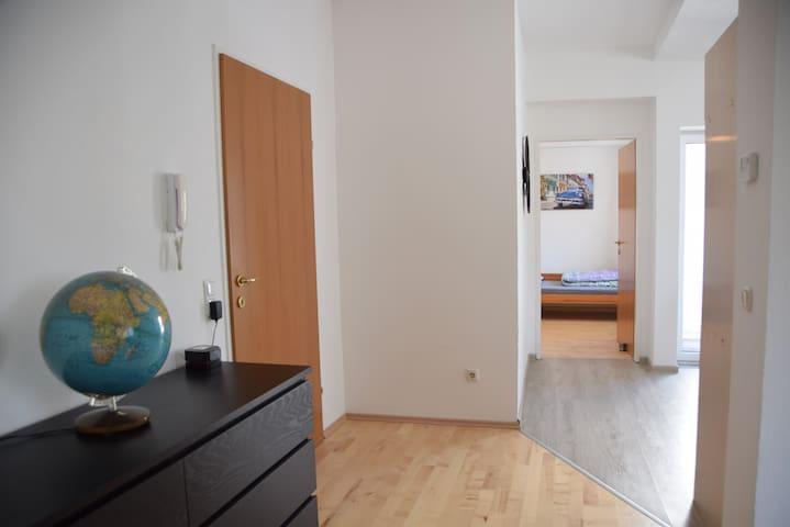 Zentrale Unterkunft mitten in Linz, 75 m²
