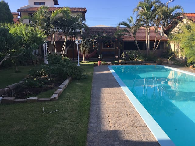 Cozy two-level home with large pool - Florianópolis - Ev