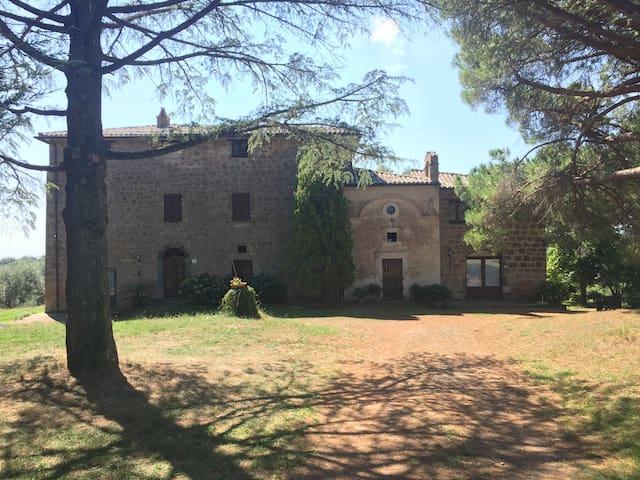 Appartamento PINO in antico casale a Lubriano - Lubriano - Apartamento