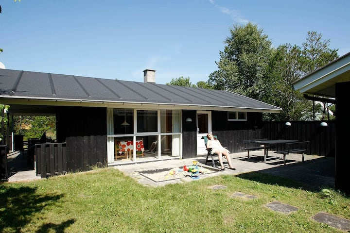 Spacious Holiday Home in Albaek Denmark with Spa