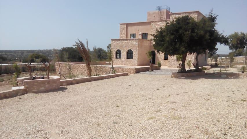 Jolie maison typique avec vue sur la mer - Essaouira