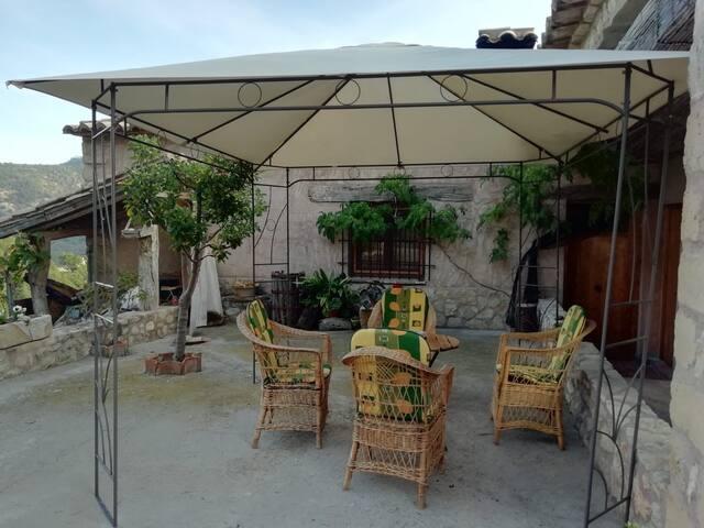 Apartamento tranquilo con vistas al valle de Olba