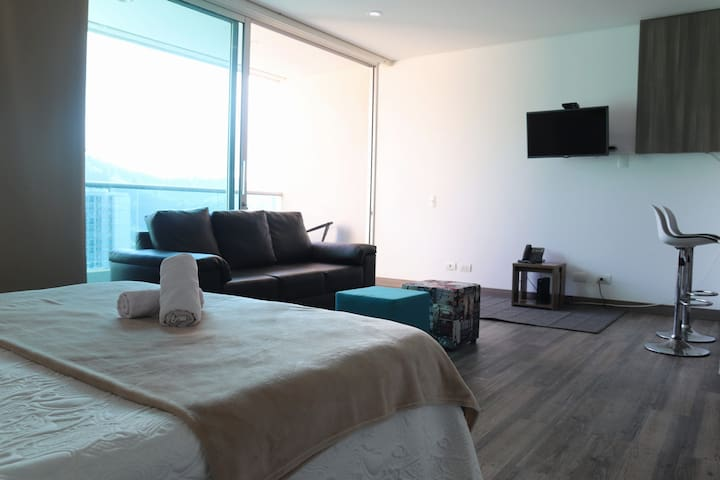 MODERN PRIVATE APARTMENT, AMAZING VIEW IN SABANETA