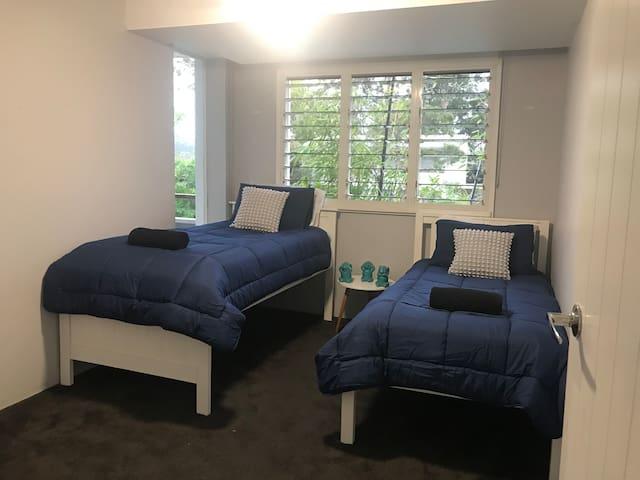 two single bedroom