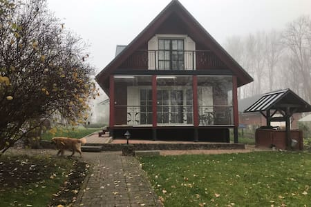 Oak tree homestay in Lithuania countryside
