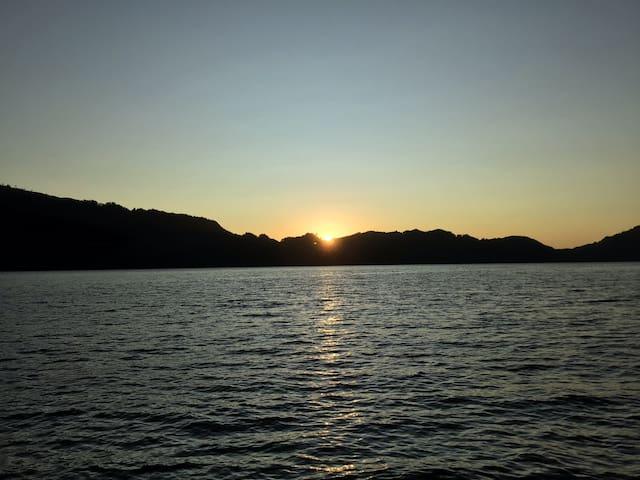 Cabaña con playa privada Lago Calafquén