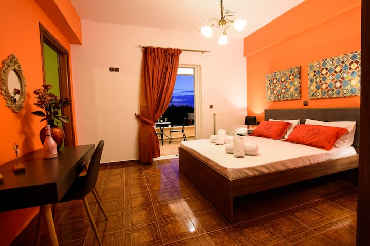 Valentina's Sea view traditional country house