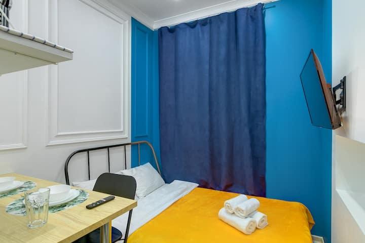 Axis.Moscow Island - Compact Stylish Studio