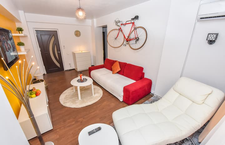 Center- Deluxe 3 rooms Safe zone-#Free Netflix