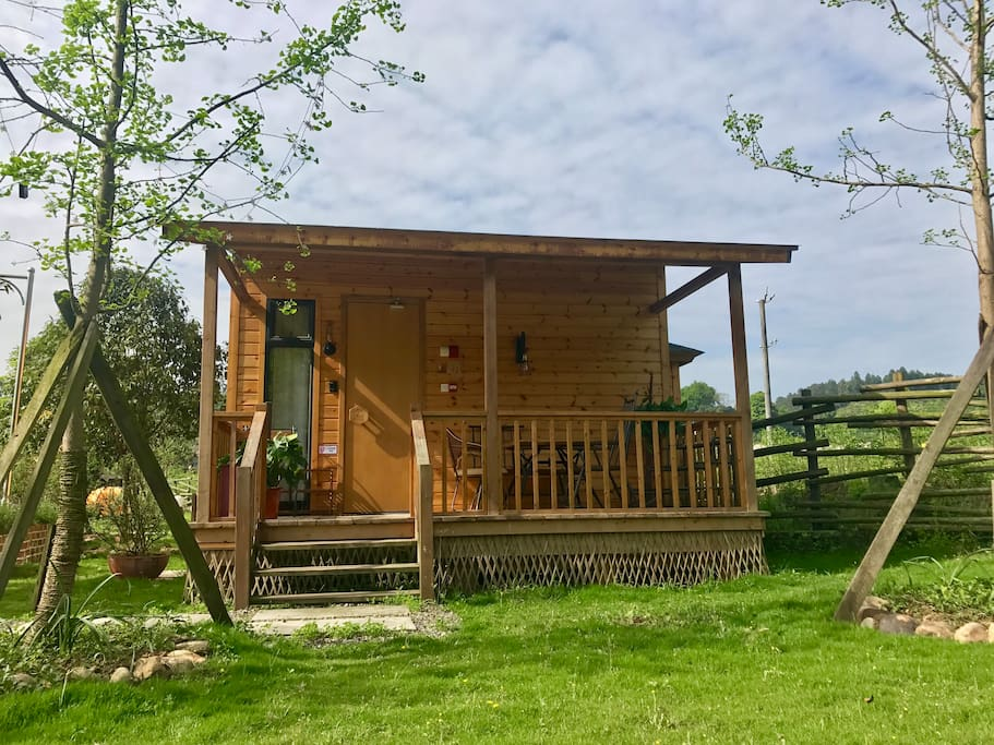 独栋两人小木屋