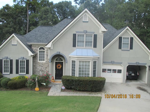 Cozy, Quiet, Basement Mother in Law Suite - Douglasville - Casa