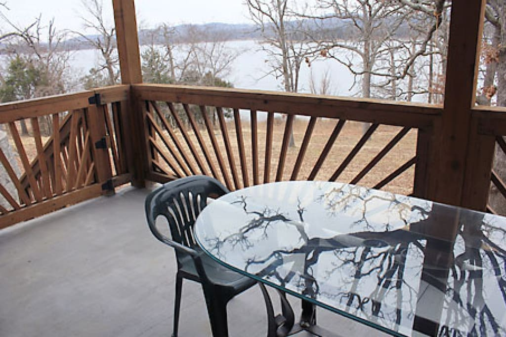 Private Deck with View of Tablerock Lake