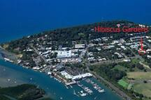 Our location in the heart of Port Douglas