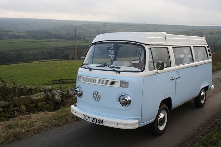 Yorkshire VW Camper - Retro VW T2 Campervan