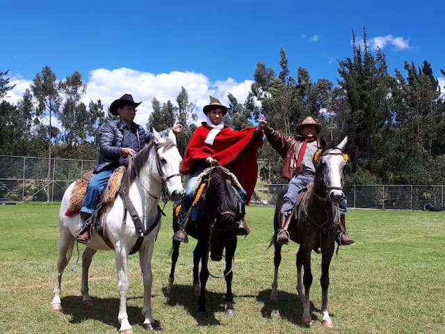 Family Lozada, Chagras de Machachi 2019