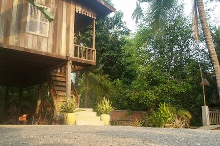 B&B in wooden house - Krong Battambang - Bed & Breakfast