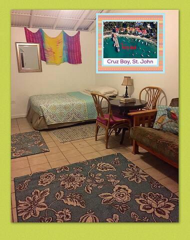 Cruz Bay Studio Apartment - Cruz Bay - Apartemen