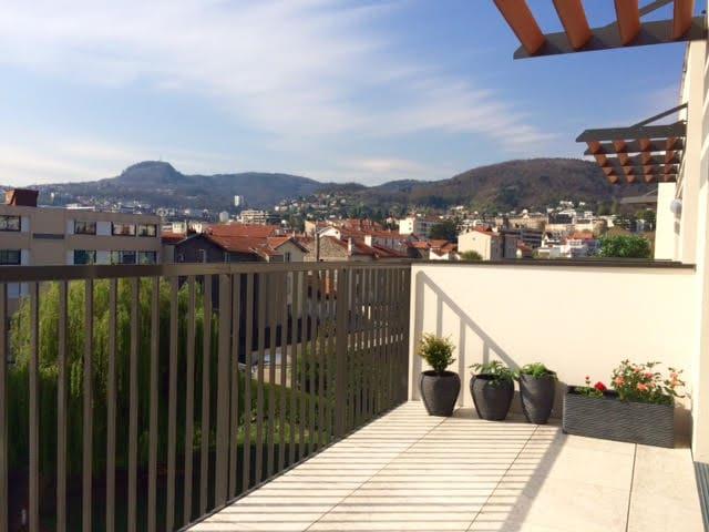 Appartement terrasse - quartier Résidentiel - Chamalières - Apartamento