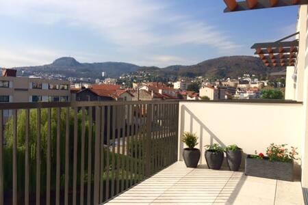 Appartement terrasse - quartier Résidentiel - Chamalières - Wohnung