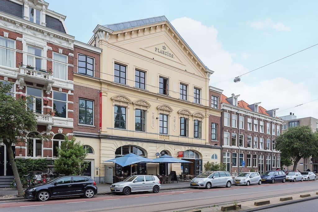 Plancius residence apartments for rent in amsterdam for Residence amsterdam economici