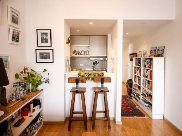 Luminoso departamento de artista - Buenos Aires - Apartment