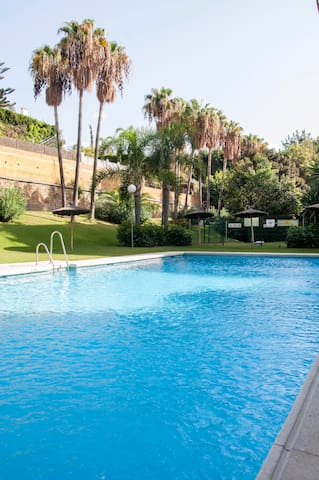Rent a room in Marbella city center