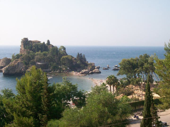Taormina Apartment Isola Bella. Splendid view.