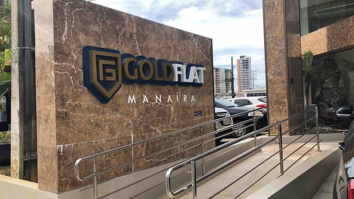 Gold Flat Manaíra (Novo): conforto e praticidade!