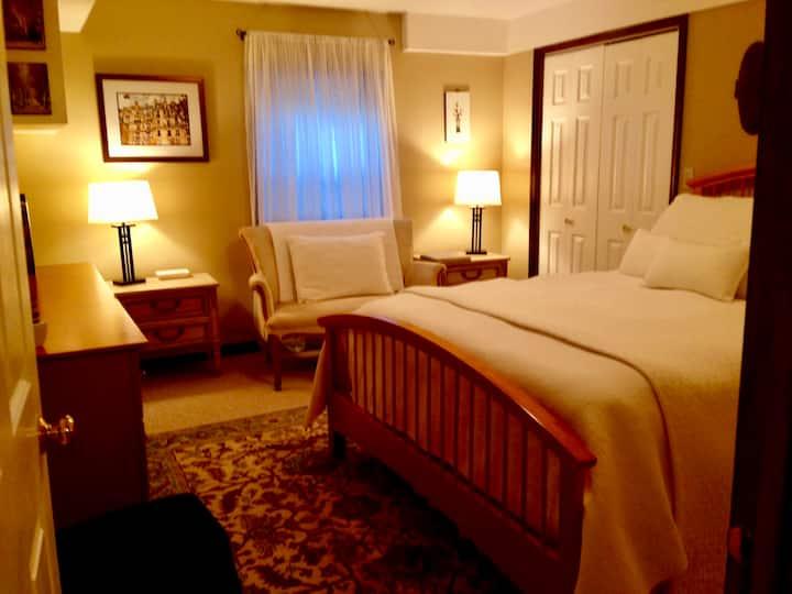 Adirondack Region Home - Beige Room