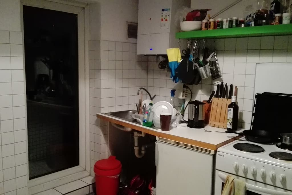 Kitchen and Balcony