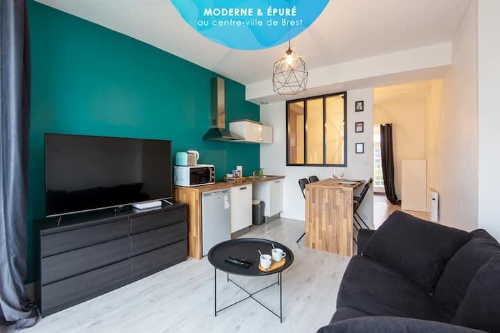 Bolennad - Moderne et épuré centre Brest