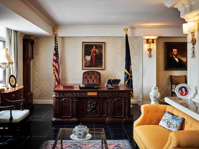 Hamilton Hotel Washington D.C., Veep Suite