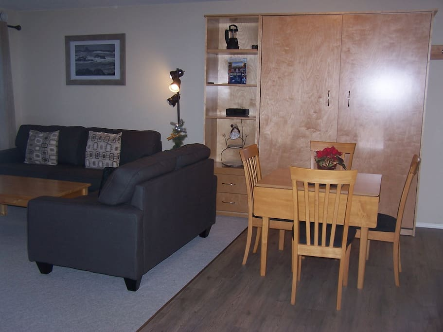 Dining Room with Murphy Wall Bed