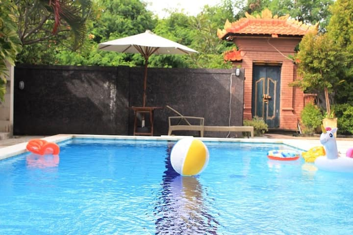 Studio With Pool Access In Sanur Beach Side