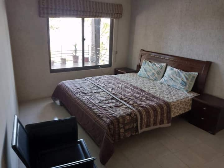 Three bedroom furnished house on rent
