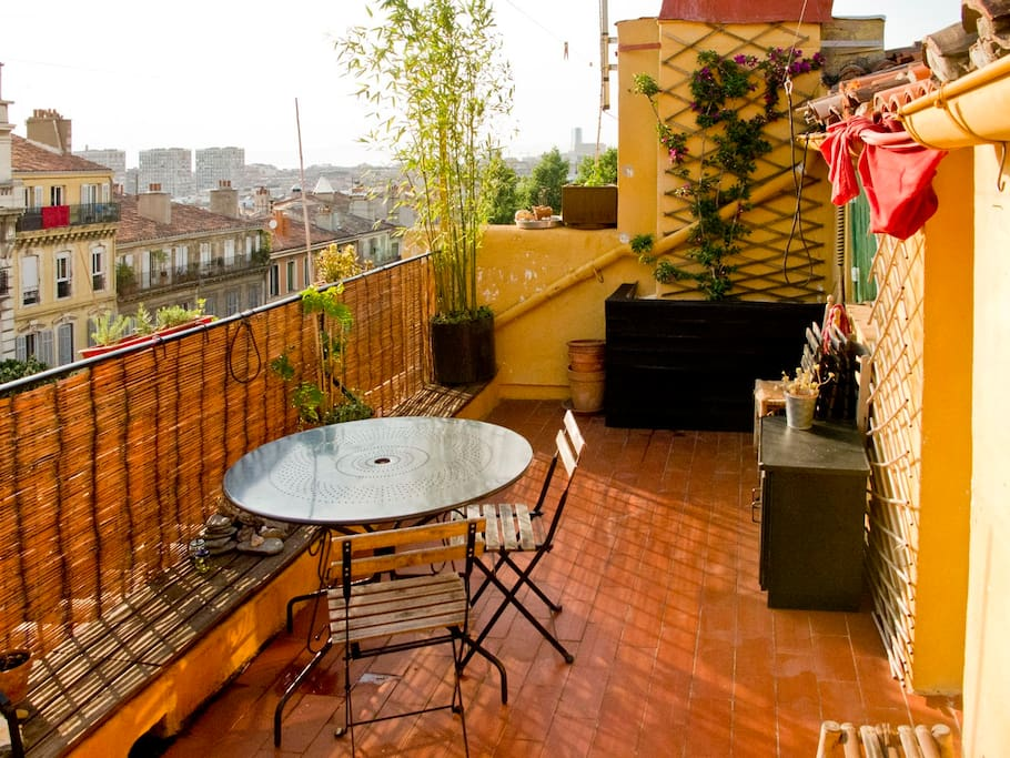 T2 de r ve grande terrasse au soleil flats for rent in for T2 marseille terrasse